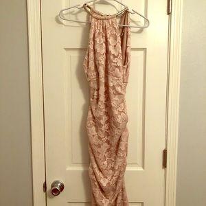 Blush Lace Cache Dress